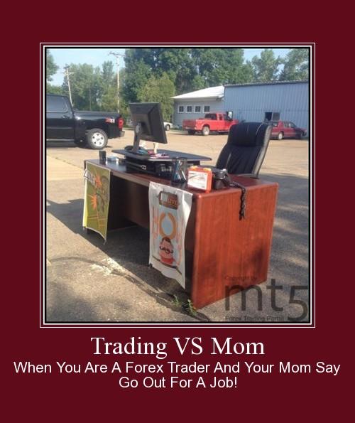 Trading VS Mom