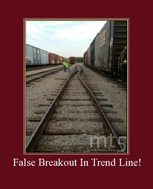 False Breakout In Trend Line!