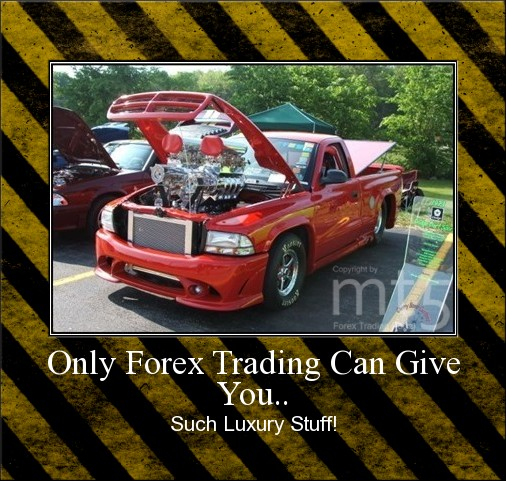 Only Forex Trading Can Give You..