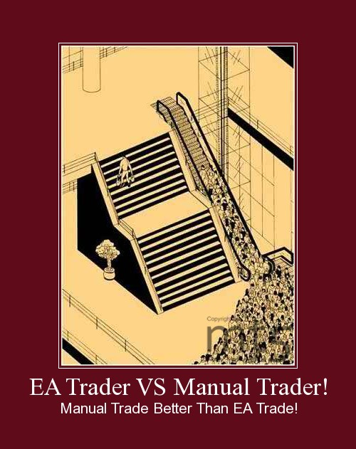 EA Trader VS Manual Trader!