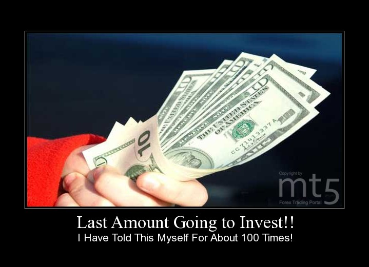 Last Amount Going to Invest!!