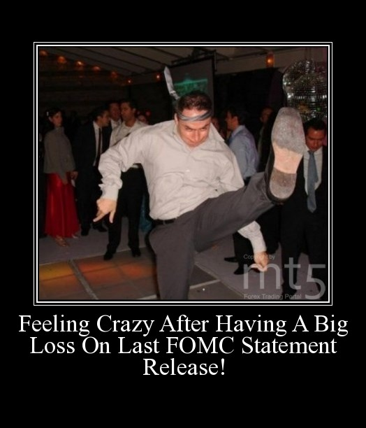 Feeling Crazy After Having A Big Loss On Last FOMC Statement Release!