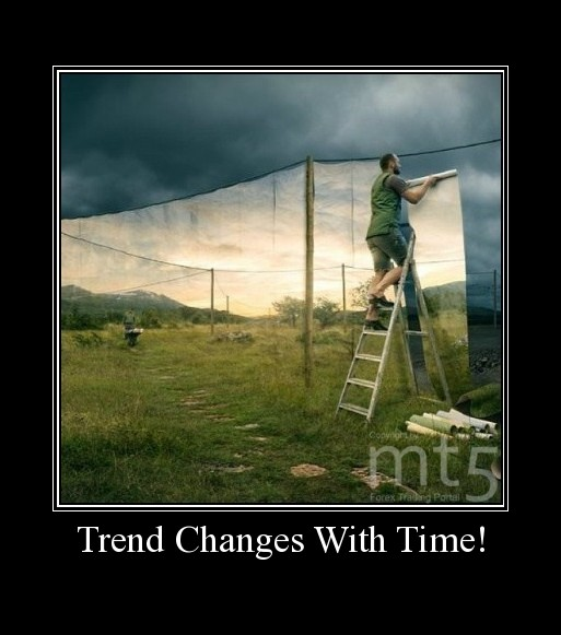 Trend Changes With Time!