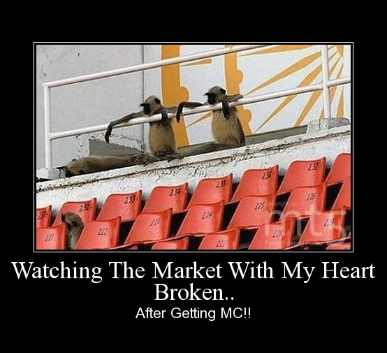 Watching The Market With My Heart Broken..