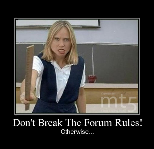 Don't Break The Forum Rules!