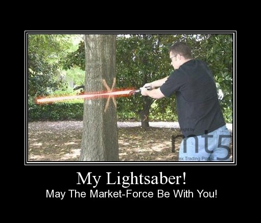 My Lightsaber!