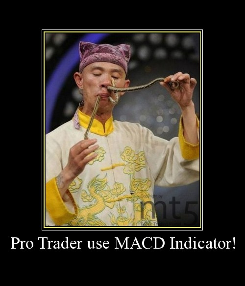 Pro Trader use MACD Indicator!