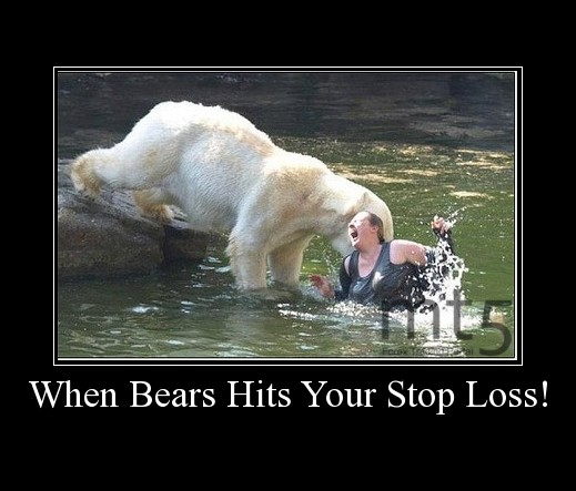 When Bears Hits Your Stop Loss!