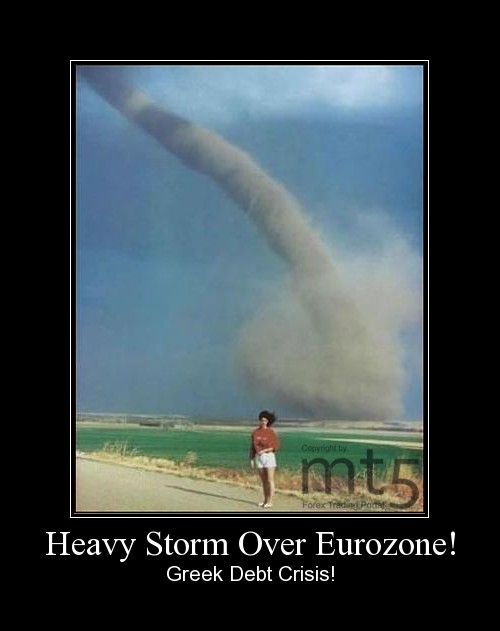 Heavy Storm Over Eurozone!