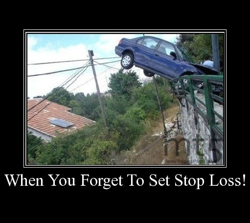 When You Forget To Set Stop Loss!