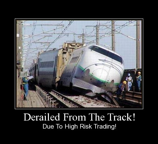 Derailed From The Track!