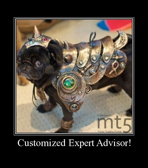 Customized Expert Advisor!