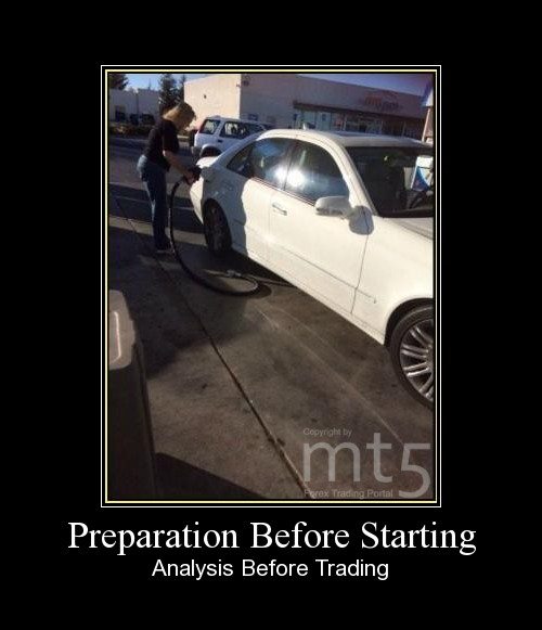 Preparation Before Starting