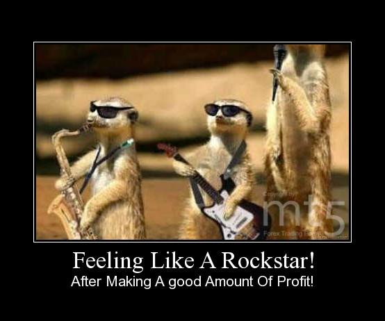 Feeling Like A Rockstar!