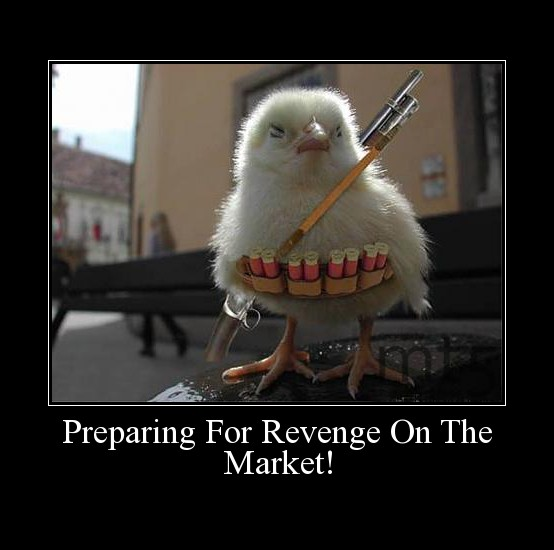 Preparing For Revenge On The Market!