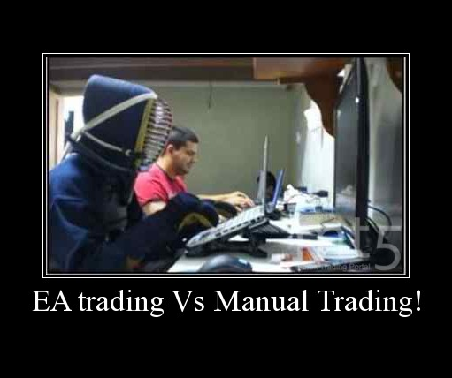 EA trading Vs Manual Trading!