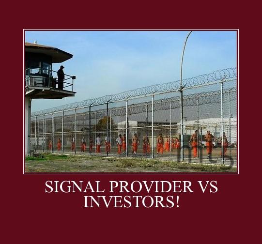 SIGNAL PROVIDER VS INVESTORS!