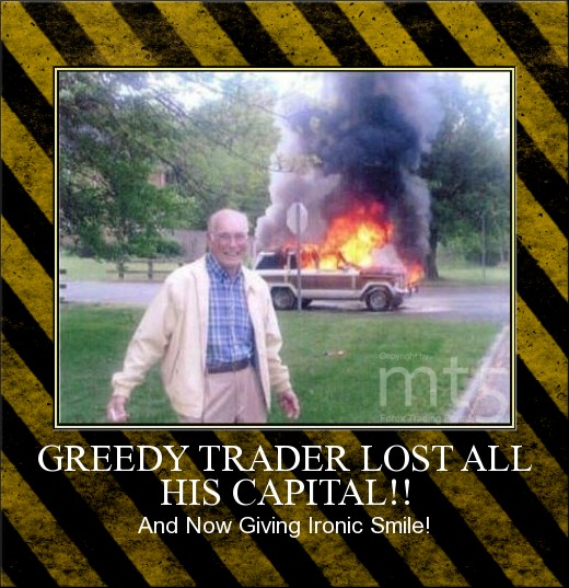 GREEDY TRADER LOST ALL HIS CAPITAL!!