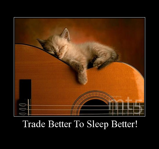 Trade Better To Sleep Better!