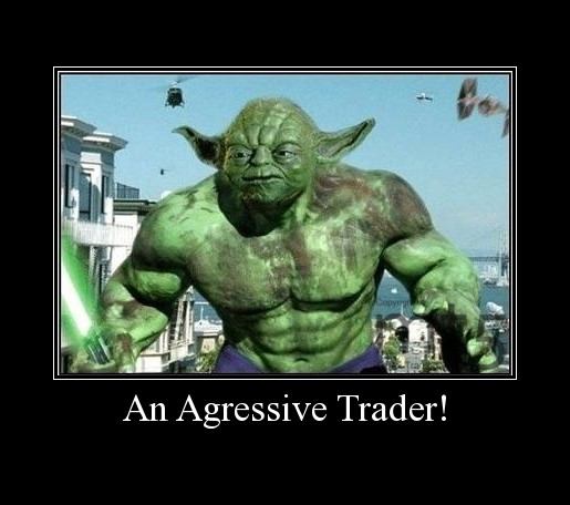 An Agressive Trader!