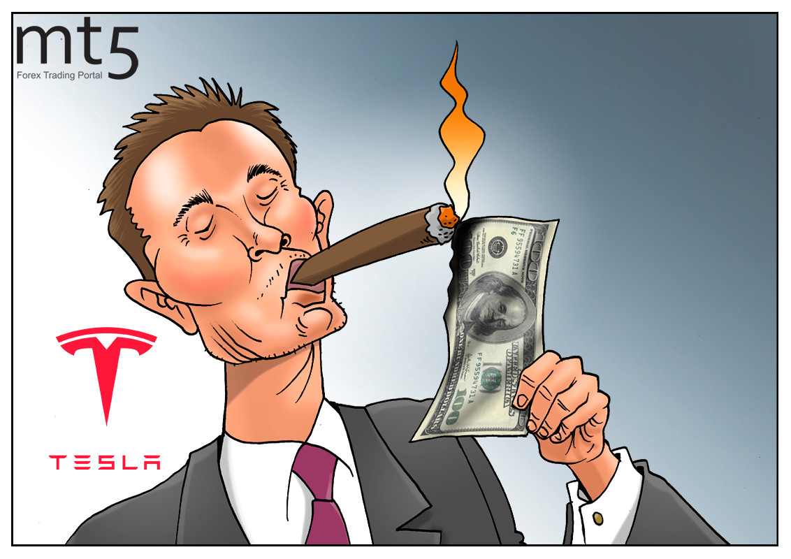 Tesla's stock increases by $4 bln overnight