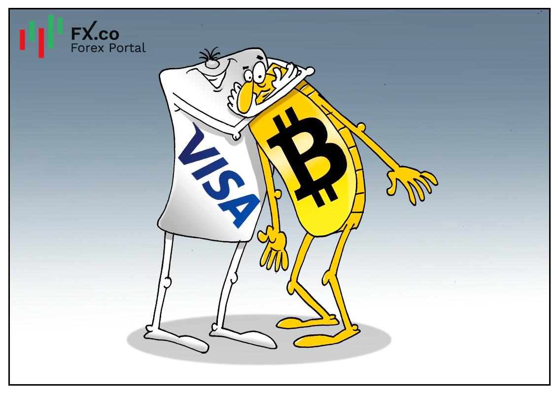 Visa เตรียมออกโปรแกรมใหม่เกี่ยวกับการทำธุรกรรมคริปโต