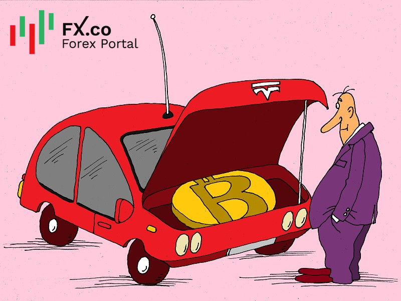 Tesla's bitcoin investment brings more profit than car sales