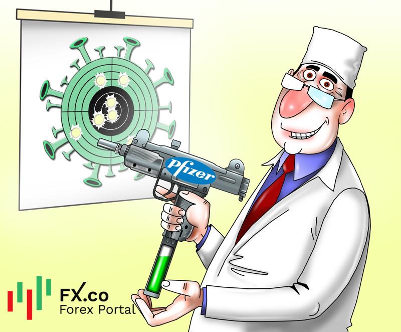 Вакцина от Pfizer блокирует передачу COVID-19 почти на 90%