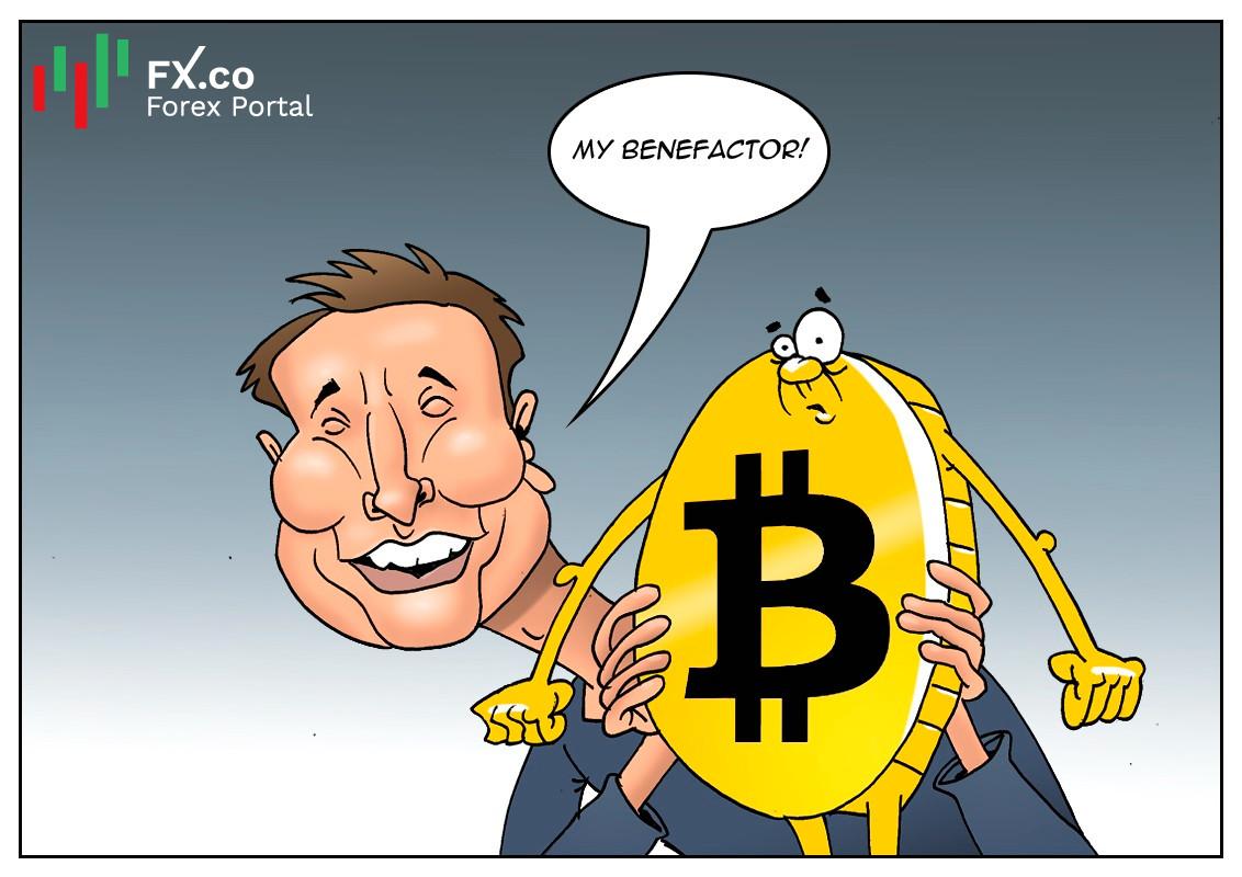 Tesla menjana lebih banyak wang untuk bitcoin berbanding pada kereta elektrik