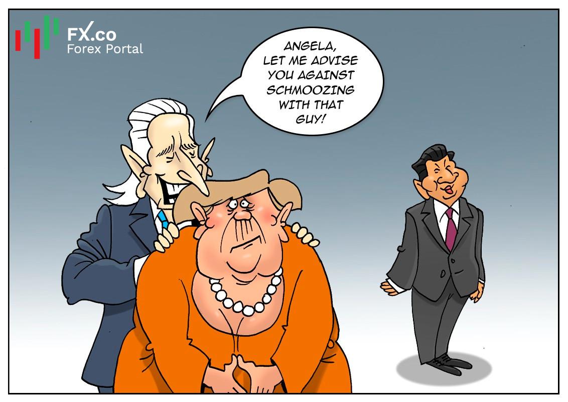 Biden muốn cùng EU đối trọng với Trung Quốc