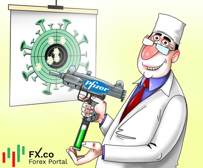 Vaksin Pfizer mengurangkan penularan COVID-19 hampir 90%