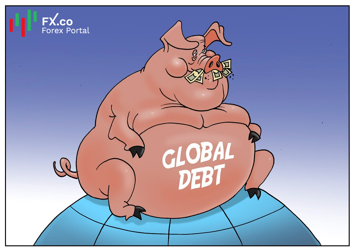 Expertos advierten de un aumento en la deuda global
