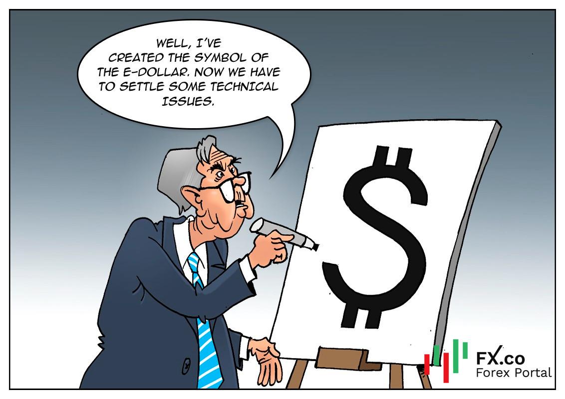 La Fed de Estados Unidos considera la creación de un dólar estadounidense digital