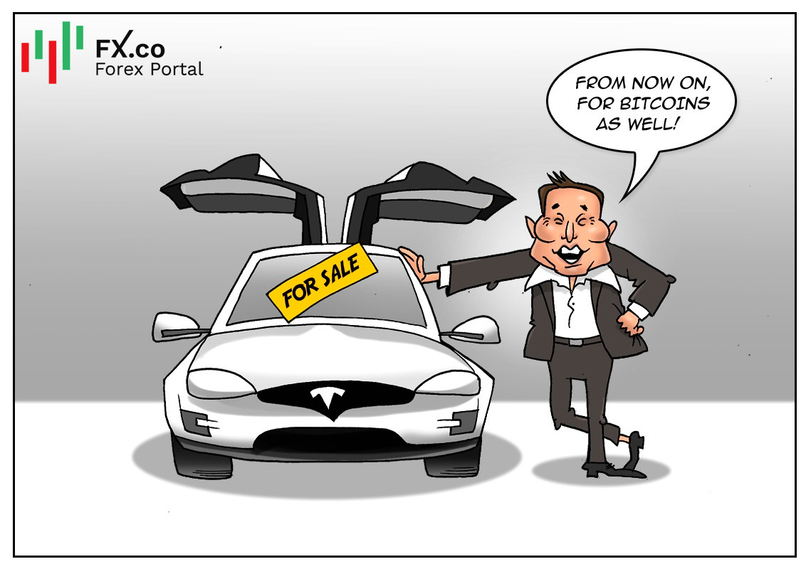 Tesla to accept bitcoin payments