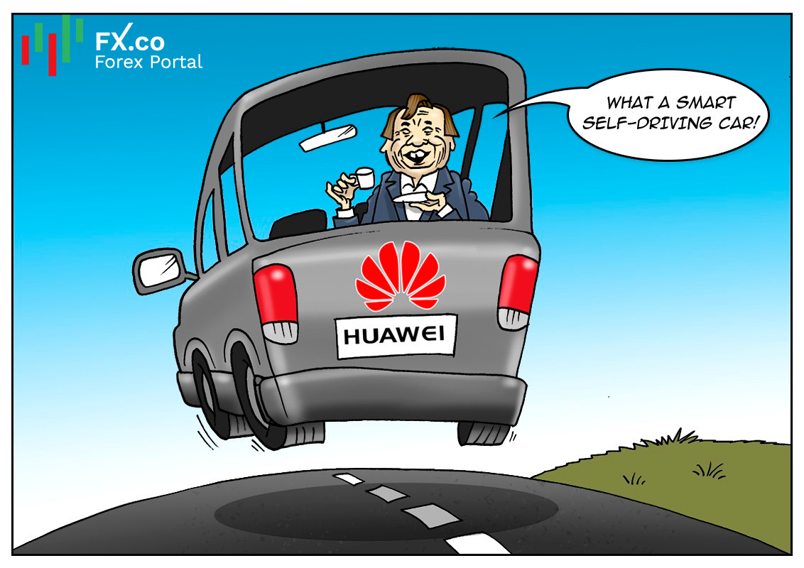 Huawei plans foray into vehicle sector