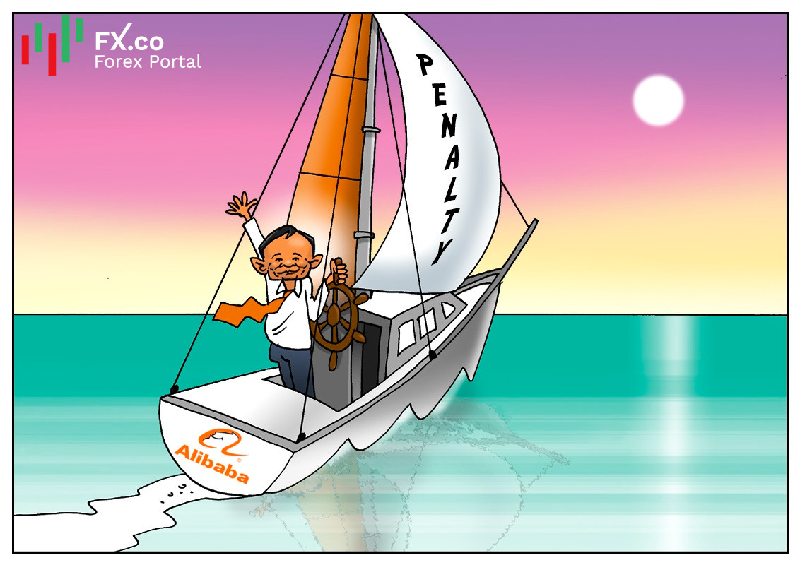 Alibaba shares soar after $2.8 billion anti-monopoly fine