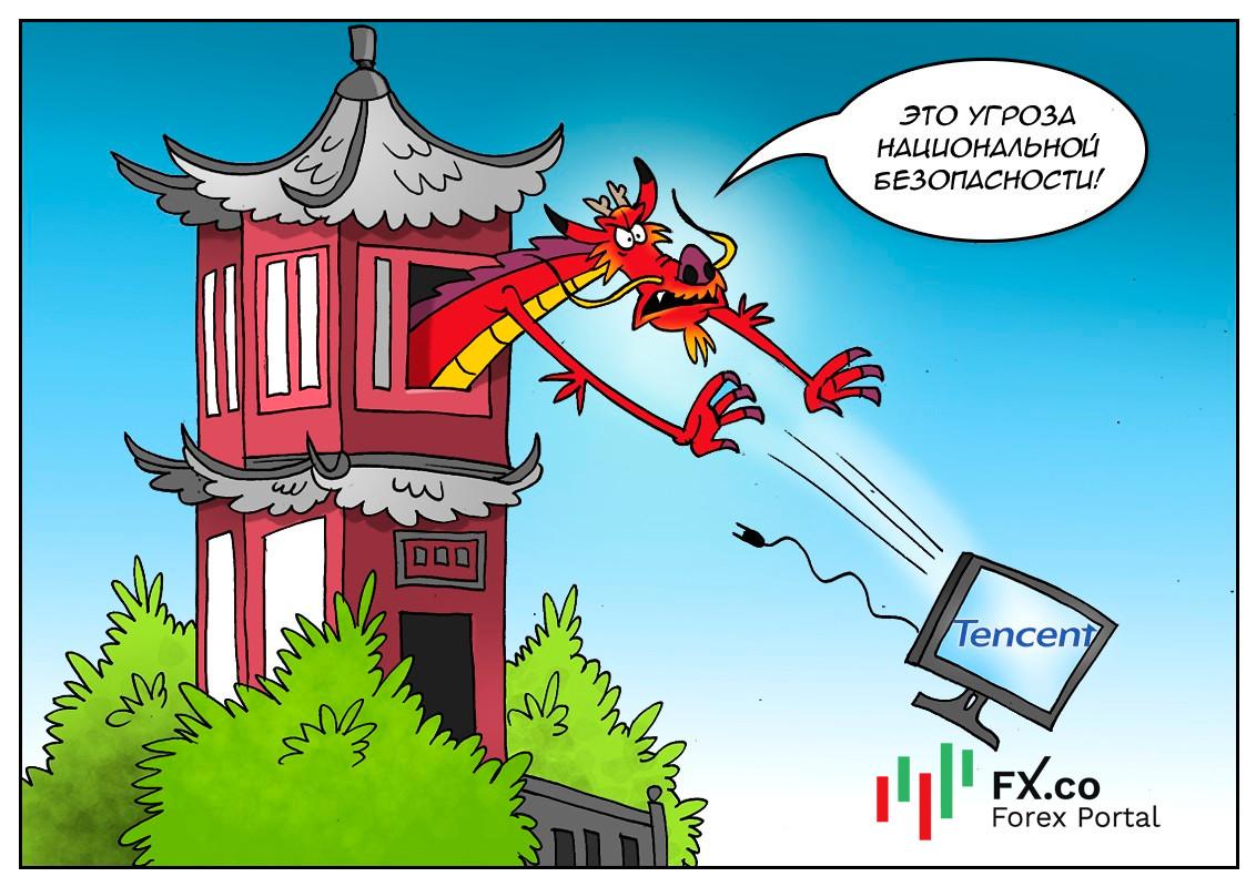 Ударом по своему интернету Китай начинает лето