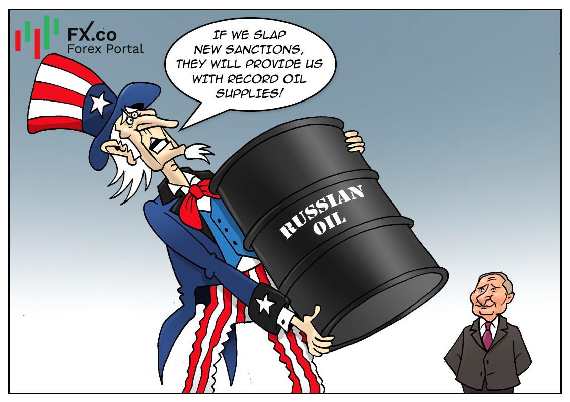 S&P mengakui kebergantungan AS terhadap minyak Rusia