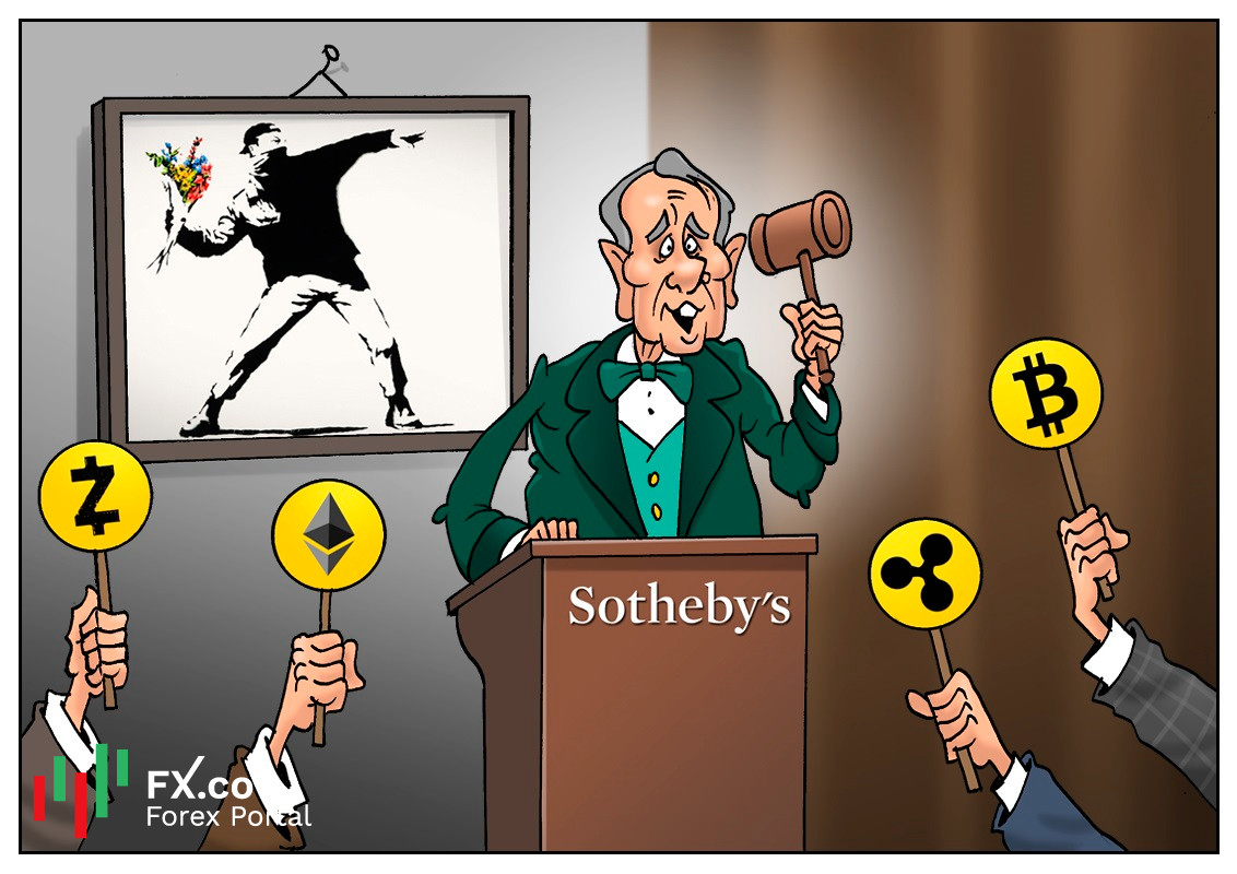 Sotheby's to accept cryptocurrency for Banksy's artworks