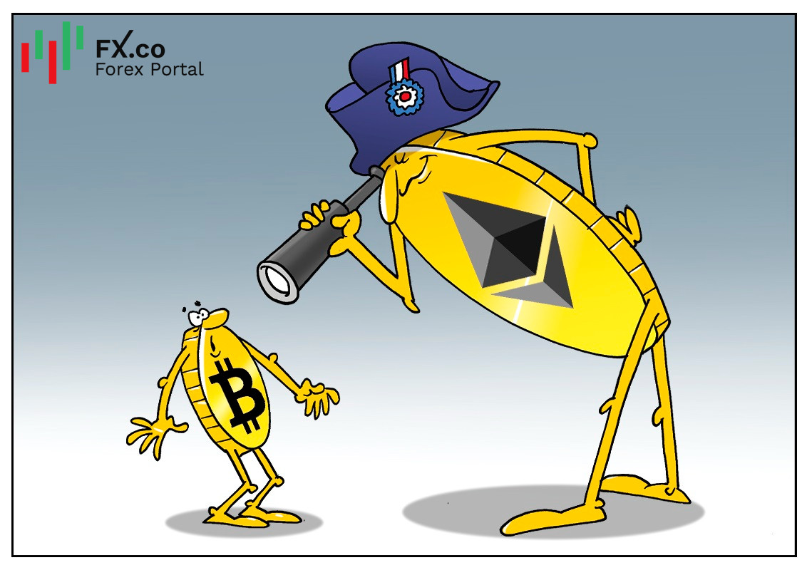 Ethereum may surpass first crypto currency