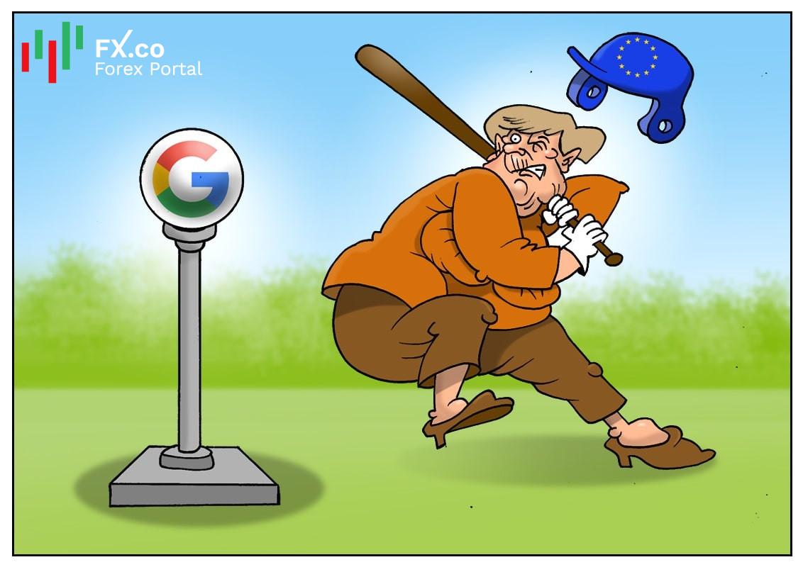 Самый крупный штраф для Google компанию загонит в угол