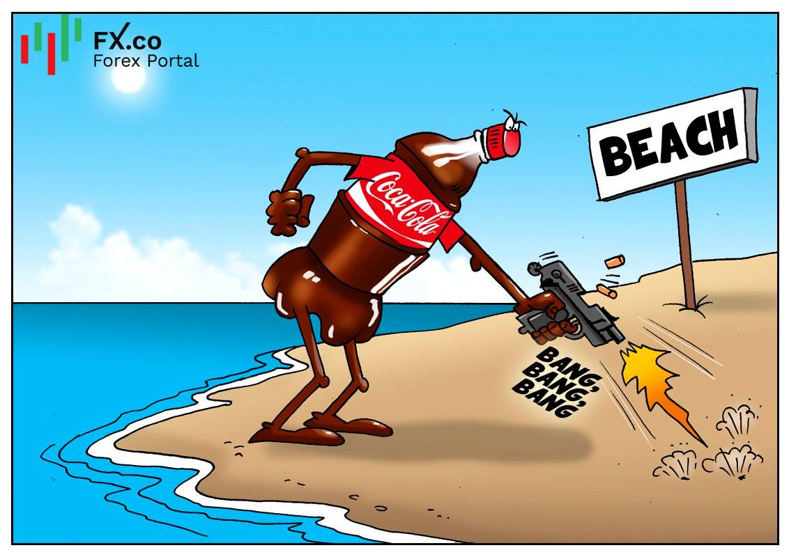 Coca-Cola เป็นตราสินค้าที่เป็นมลพิษมากที่สุดตามชายหาดของสหราชอาณาจักร