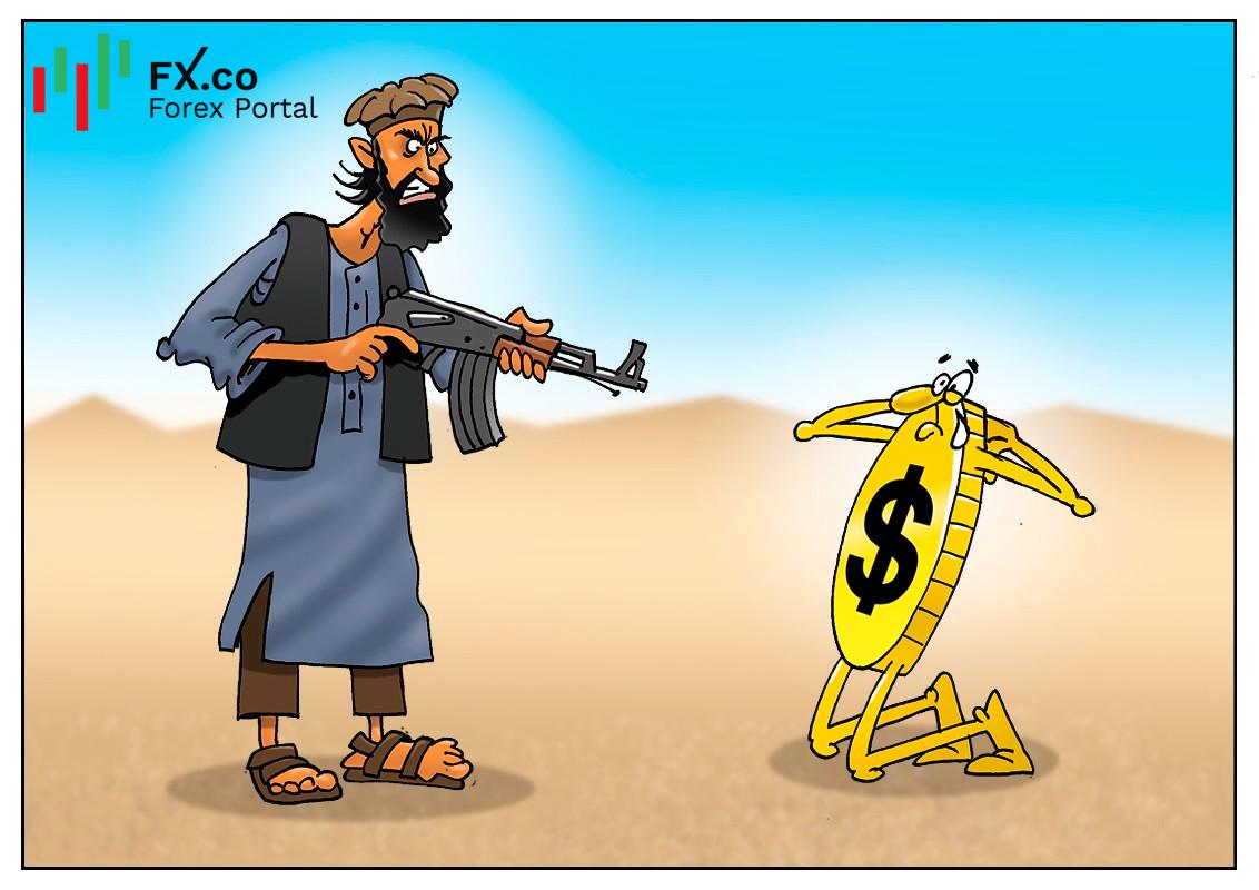 塔利班接管会影响美元?