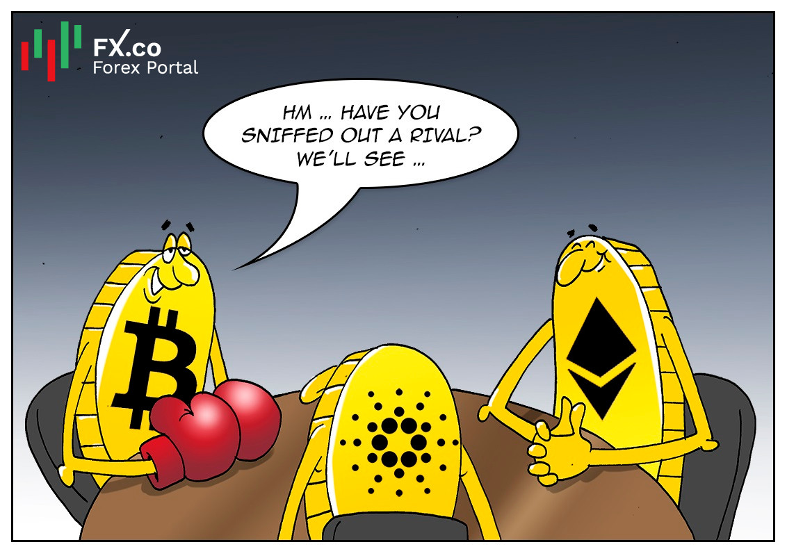 """""""Green"""" cryptocurrency Cardano to take over Bitcoin?"""
