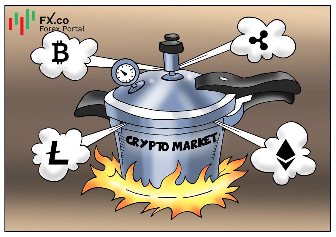 JPMorgan เตือนเกี่ยวกับการเติบโตอย่างร้อนแรงในตลาดคริปโต