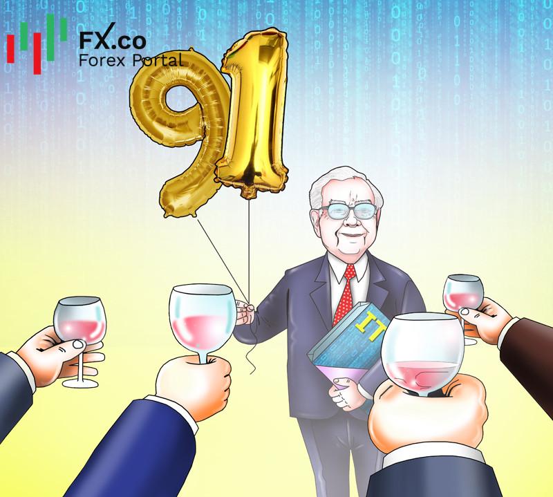 Warren Buffett shifts focus to new economy