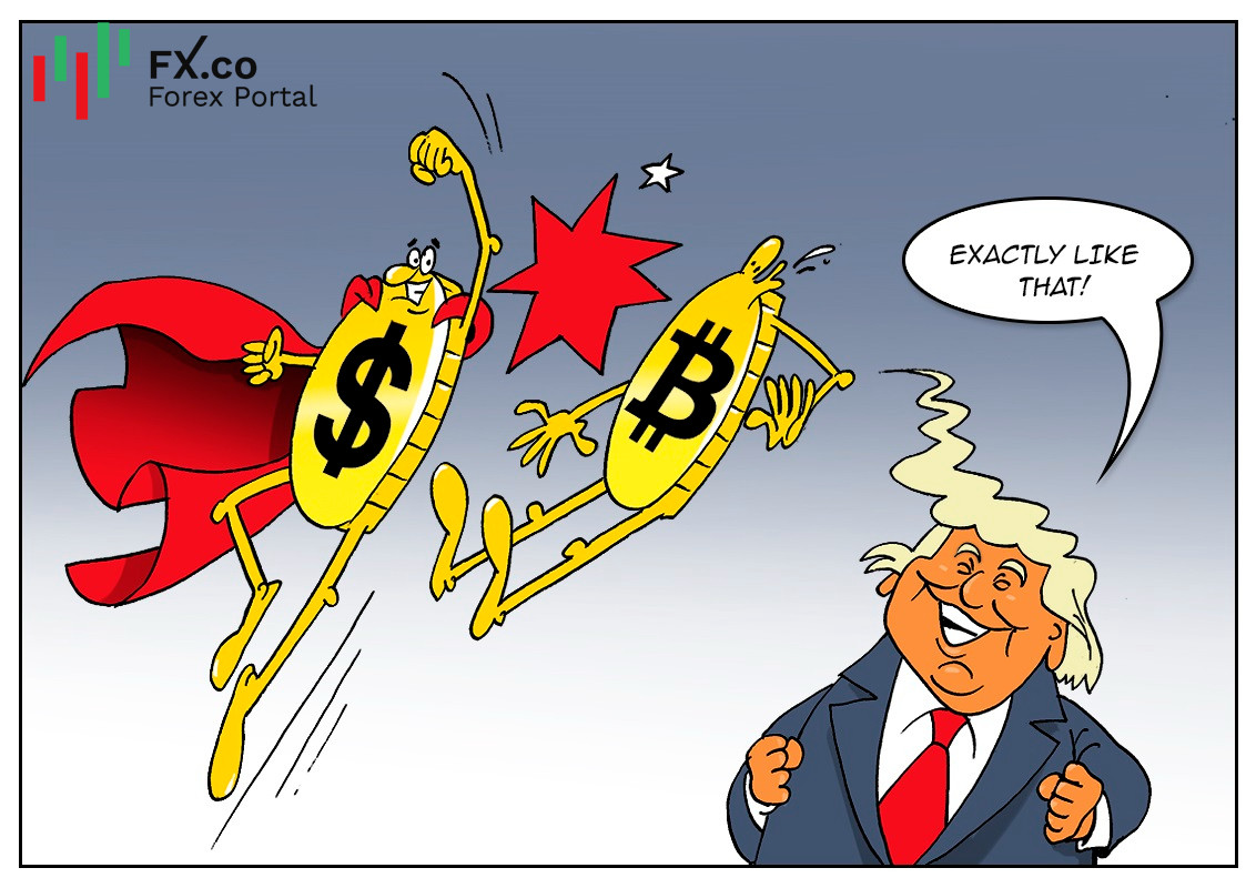Donald Trump lashes out at crypto assets