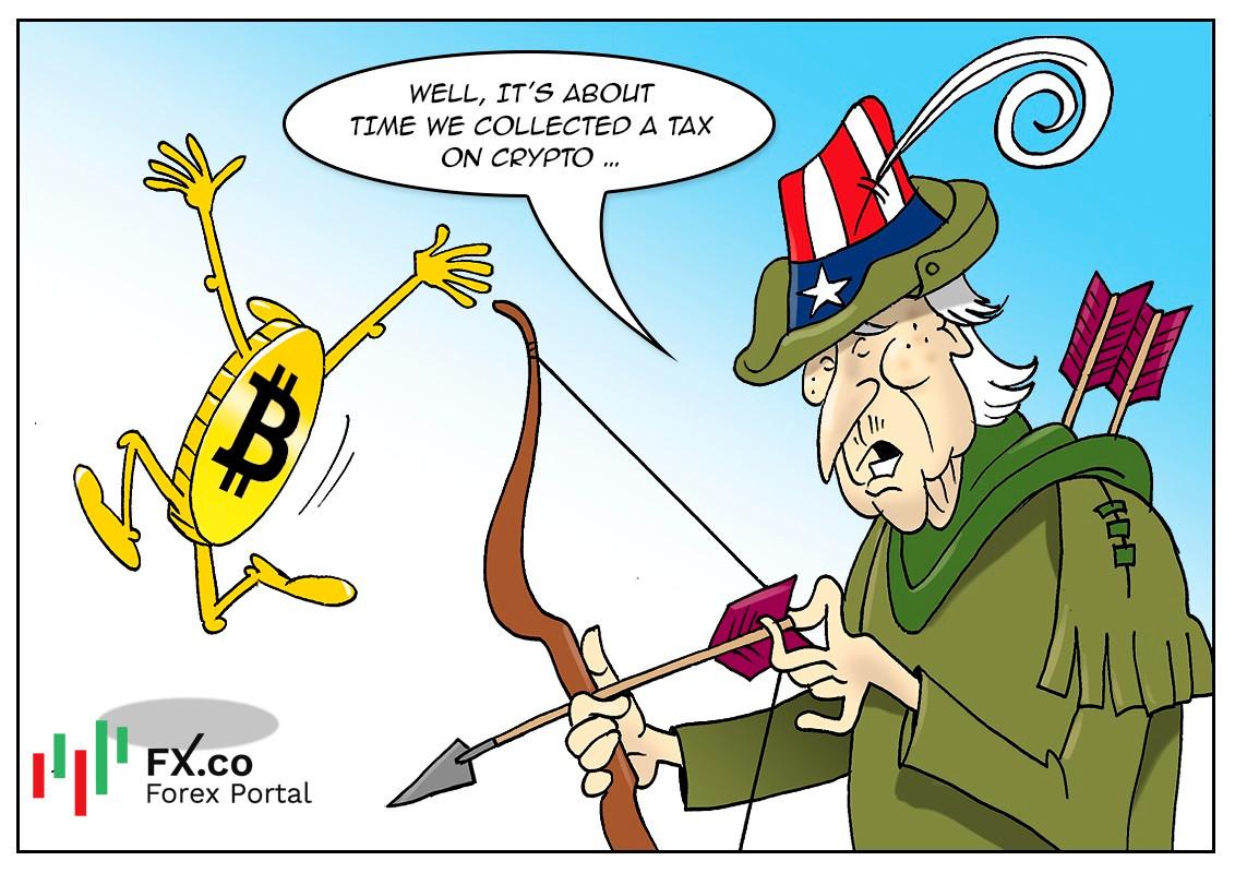 Activos digitales serán sujetos a impuestos en Estados Unidos