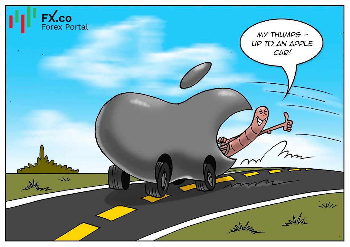 El vehículo de Apple podría anunciarse el próximo año