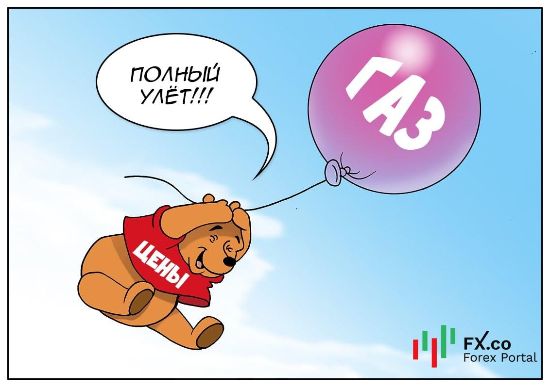 В Европе стремительно газ дорожает, в России даже причину не знают